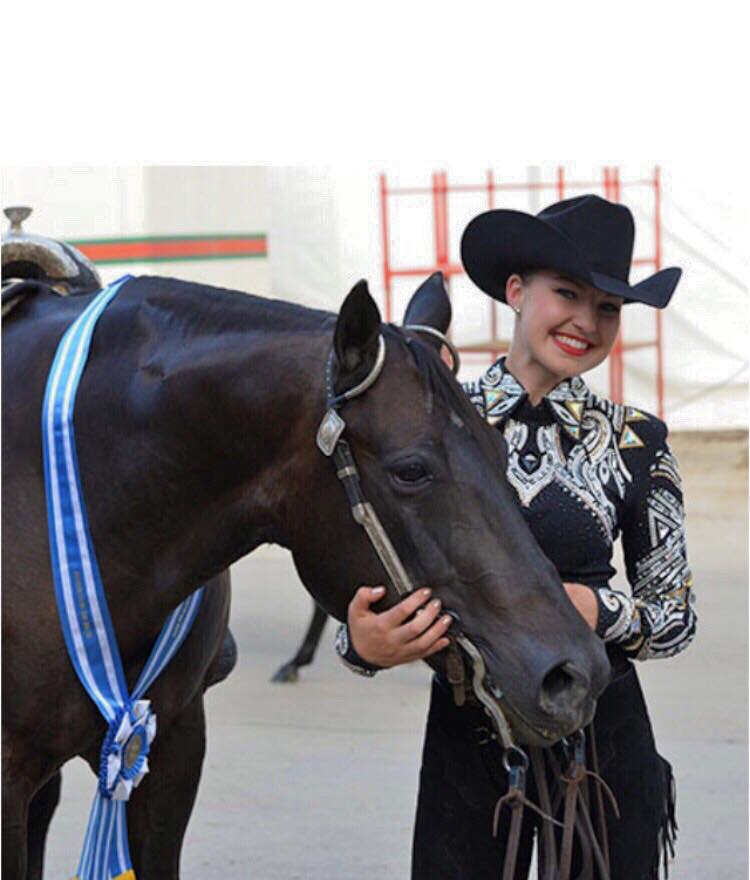 Hannah Friedl, Congress Champion L1 Am. Horsemanship