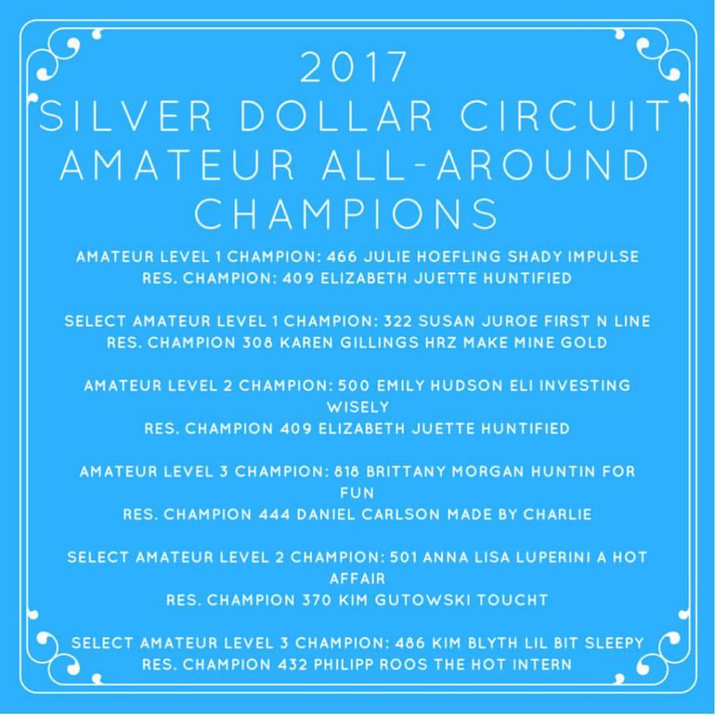 Allround Champions Silver Dollar Circuit