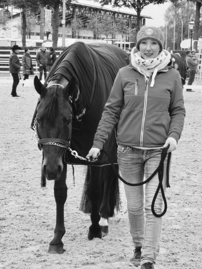 Franca Bartke; picture: Leonie Küthmann (DQHA)