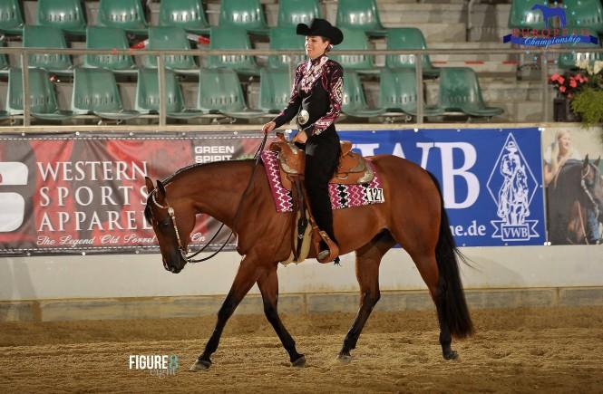 Sophie Gillioz & Power In The Canyon, mehrfache Champions in Horsemanship, Bild: Figure 8.