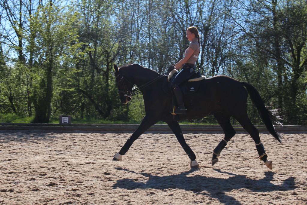 Viktoria und Ruben im Training; Bild: Markus Pfeifer