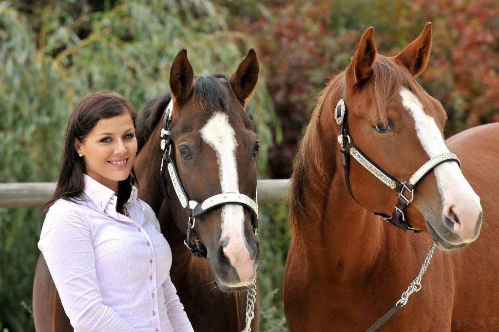 Nicole Steinbrecher with Liddys Lena & Dreams Tonite; picture: Fotostudio A Focus