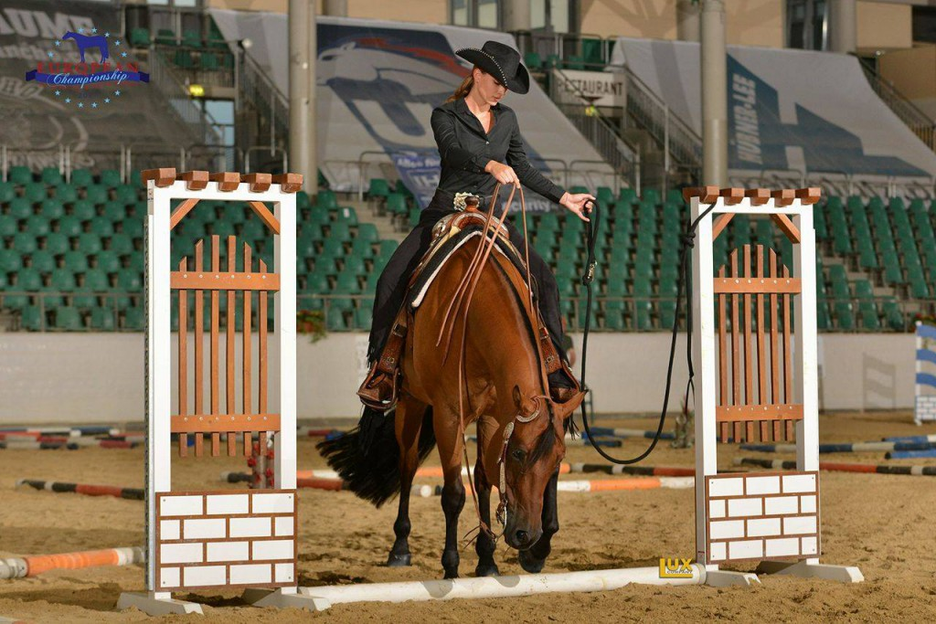 Vanessa und A New Wonderboy, European Champions Youth Trail; picture: Luxcompany