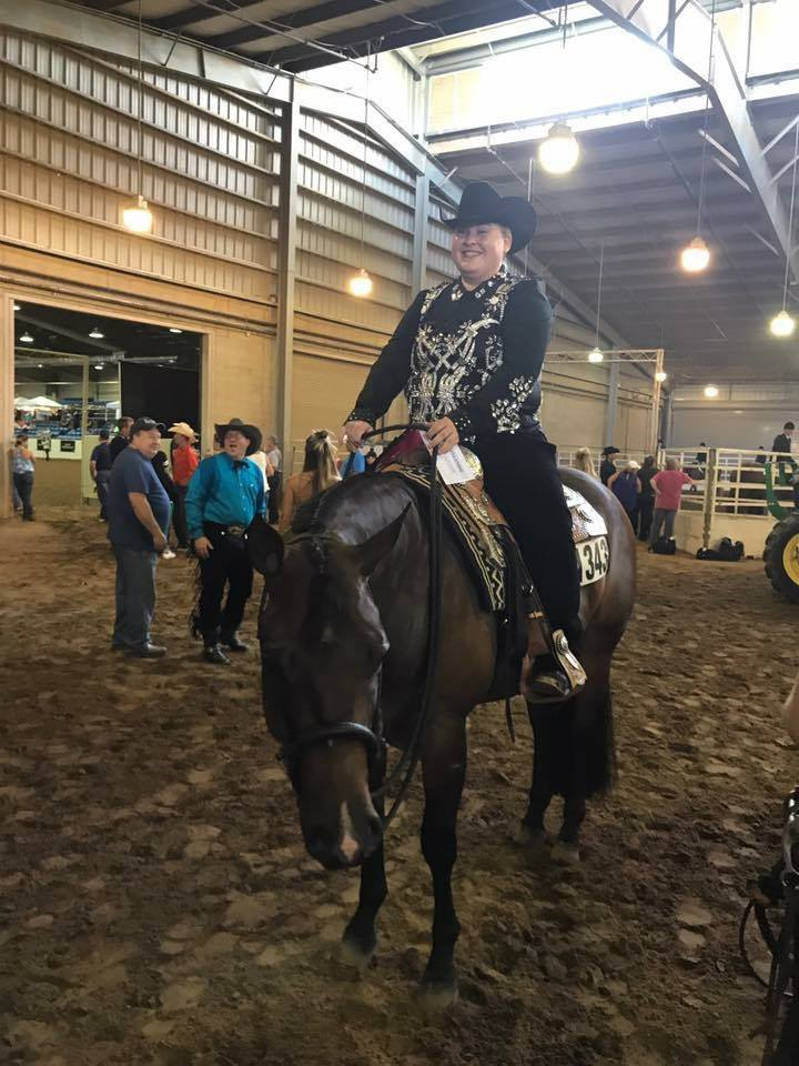 Ona Lazy Cowboy Ashtin Walker, NSBA Res. World Champions; Trainer: Stein Show Horses
