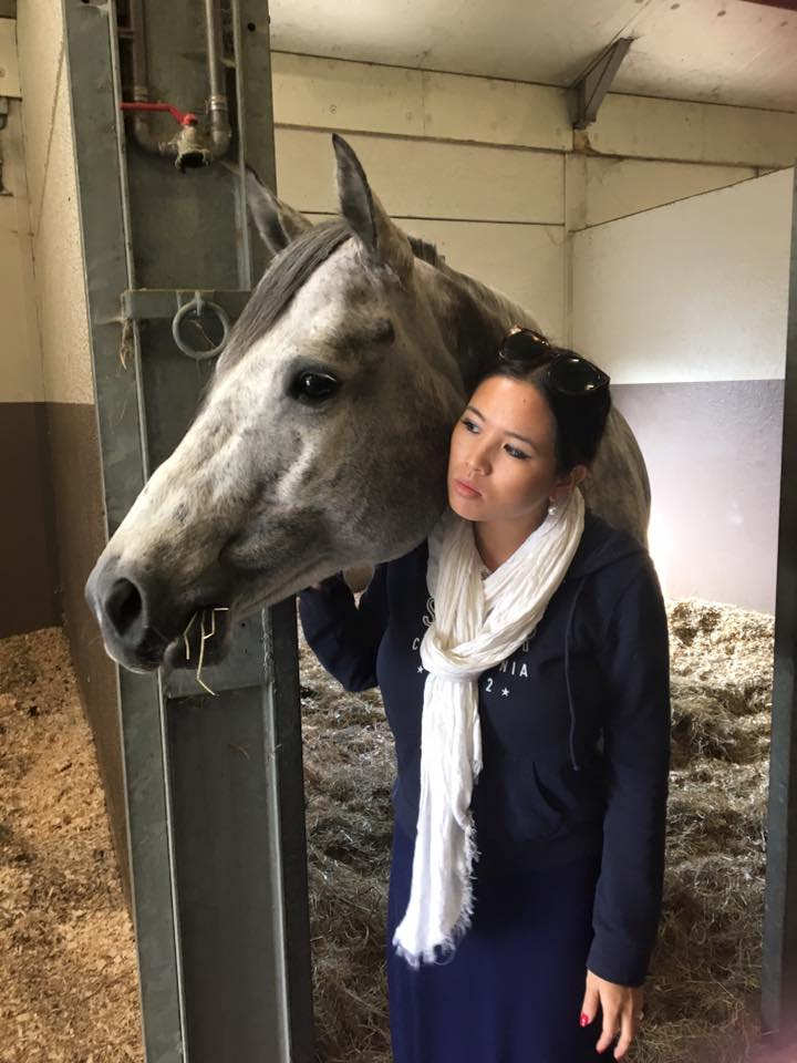 Fei Ehmann with her beloved Only A Glamourgirl